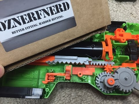 Review / Install: The OzNerfNerd Slingfire Upgrade Kit.  (Serious Power Boost)