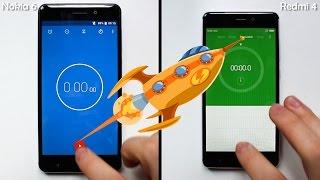 Nokia 6 VS Redmi 4 - Speed Test & Benchmarks