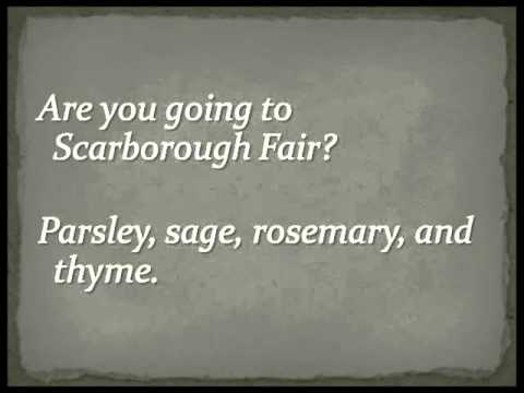 Simon And Garfunkel - Scarborough Fair Canticle