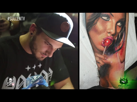 Tattoo Timelapse - Luka Lajoie