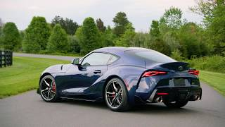 Walkaround The 2020 Toyota GR Supra Downshift Blue