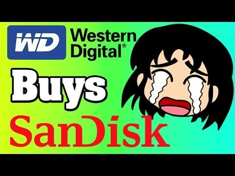 Western Digital Buys SanDisk For $19 Billion