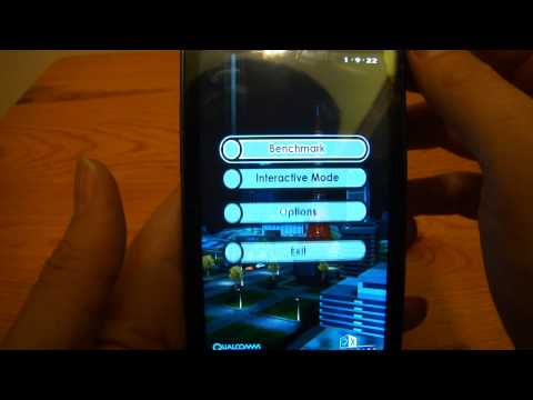 Samsung Galaxy R i9103 Test 1 Music Videos