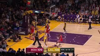 -LA Lakers vs HOU Rockets- Fight