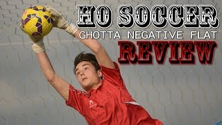 HO Soccer Ghotta Negative Flat Review | Footballerz Italy