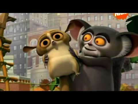 Pingwiny z Madagaskaru   The best of  Lemur Mort