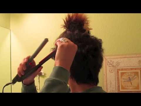 HAIR| How to Straighten a Pixie Cut + Hair Styles Using Heat