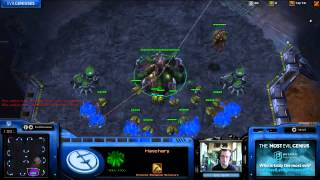 Gaulzi vs Idra - Starcraft 2 Cannon Rush