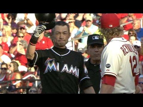 Ichiro passes Ty Cobb with his 4,192nd hit