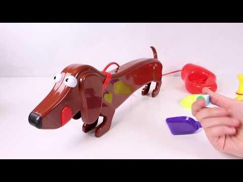 ? CUIDA A DOGGIE DOO ? El divertido juego del perro salchicha que hace popo! | Juguetes para niños
