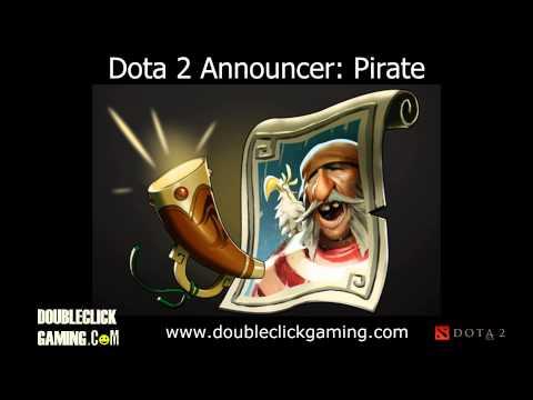 Dota 2 Announcer Soundset - Pirate