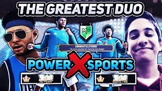 HG POWER + SPORTS TNB: GREATEST DUO IN 2K HISTORY UNLOCKED! THE METHOD RETURNS IN INSANE THROWBACK!