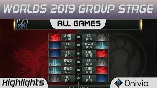 Group Stage Day 8 Full Day Highlights Worlds 2019 By Onivia