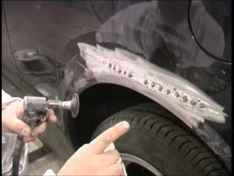 Car body repair - Panel beating and spraying - General repair - Tips of the trade