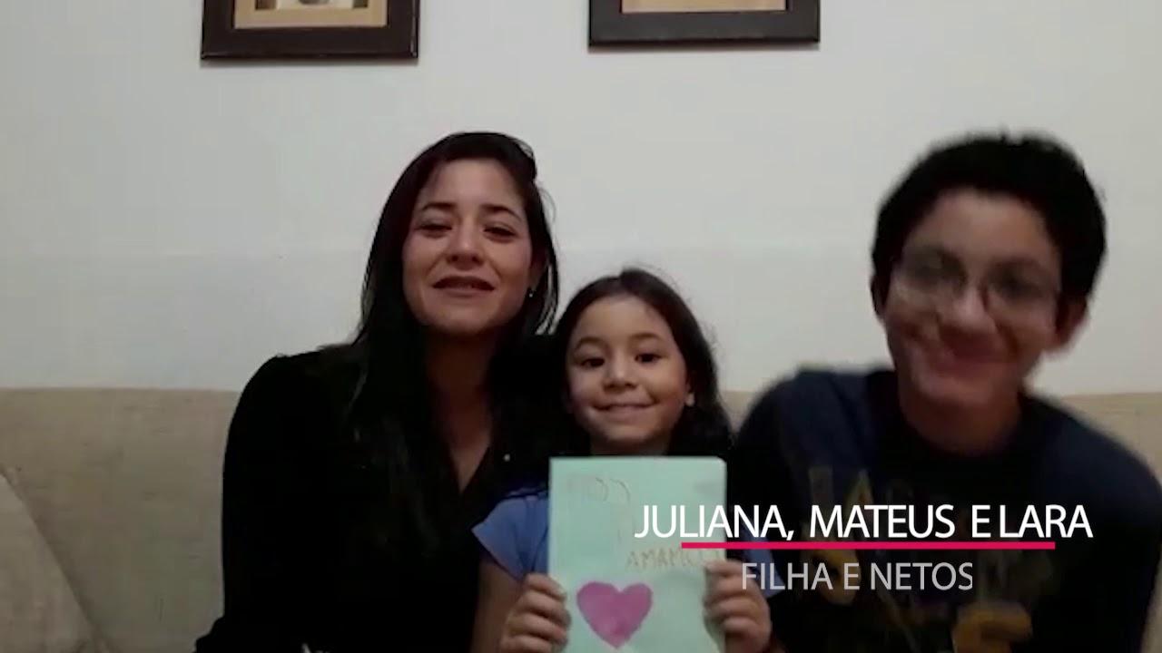 Juliana, Mateus e Lara - Feliz Aniversário Caio!