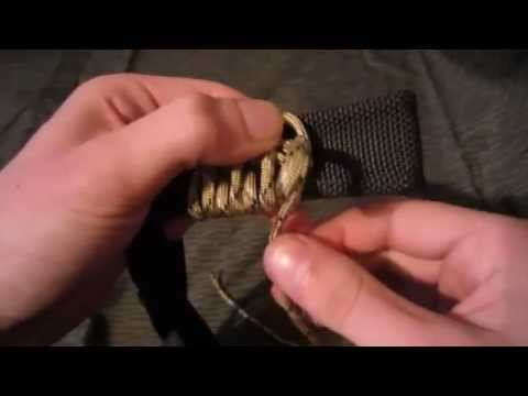 How To Make a Paracord wrap