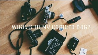 What's in my Camera Bag - Analog Photography (2018)