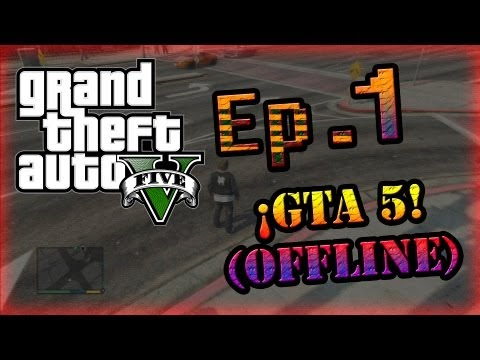 GTA 5 HD - Ep.1 - ¡Tuneando mi arma! Y practicando puntería ;D
