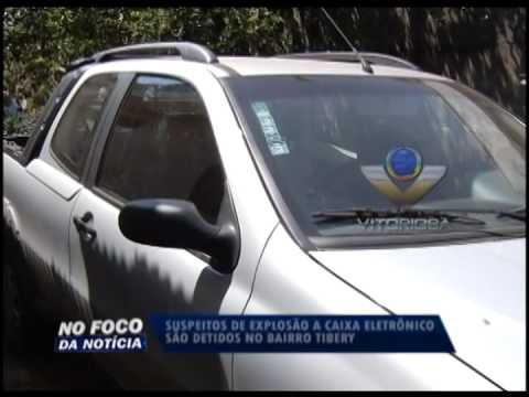 Polícia prende dois suspeitos de explosão a caixa eletrônico no Aparecida