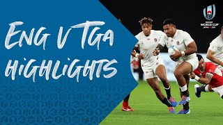 HIGHLIGHTS: England v Tonga - Rugby World Cup 2019