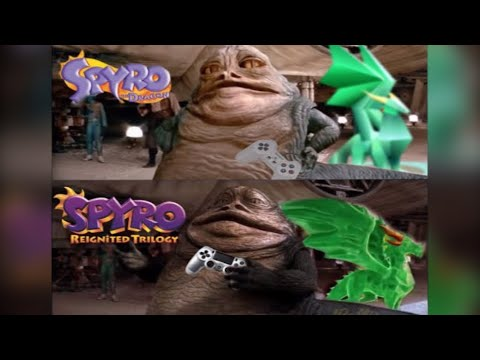Star Wars: A New Hope - CGI Jabba Comparison.