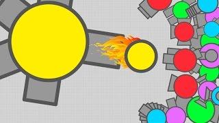 DIEP.IO TEAMING AGAINST TEAMERS!! // Fighter DOMINATION // (Diep.io Maze)