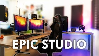 Building an epic YouTube Studio / Streaming Setup with Standing Desk