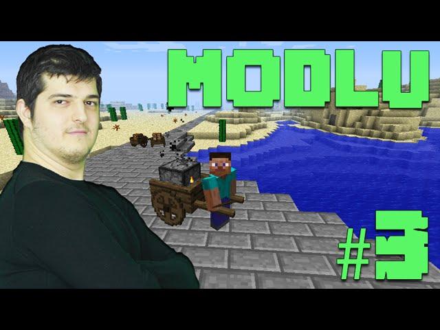 Modlu Minecraft #3 - Dungeon'da Madencilik
