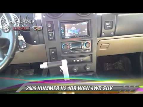 Used 2006 HUMMER H2 4WD SUV - MIDLAND, ODESSA, LUBBOCK, ABILENE, HOBBS