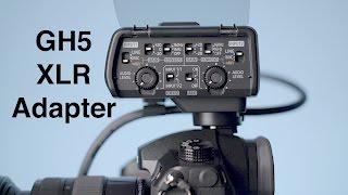 Panasonic GH5 XLR Microphone Adapter DMW-XLR1 Review