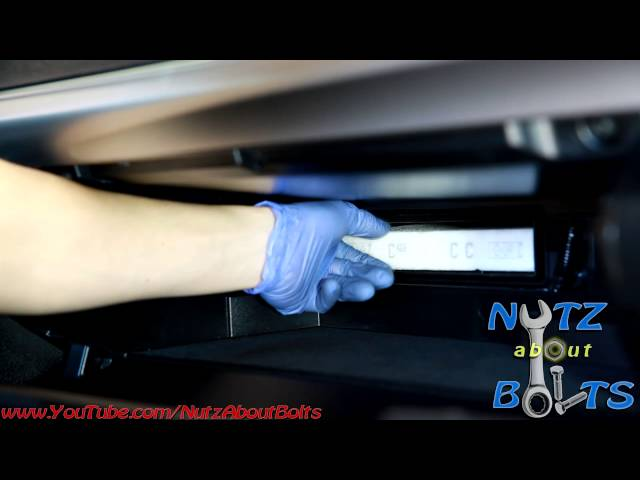 2012-2016 Toyota Camry cabin air filter change - YouTube