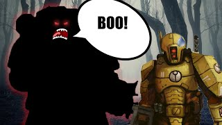 Scary Marines EXPLAINED by an Australian | Warhammer 40K Lore