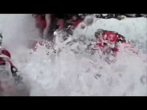 Salt Water Shower - Wet and Wild Footage from PUMA Ocean Racing