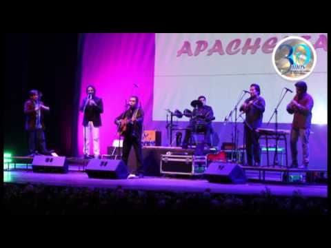 Presentación del grupo Apachekta en el Teatro Municipal de Antofagasta