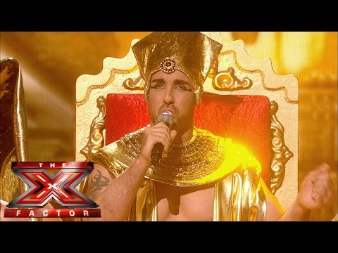 Stevi Ritchie Sings Elton John's I'm Still Standing | Live Week 7 | The X Factor Uk 2014 video