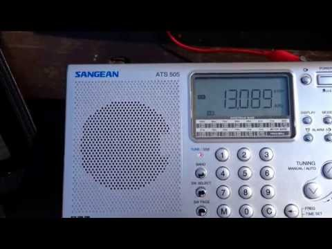 Marine weather USB on Sangean ATS 505