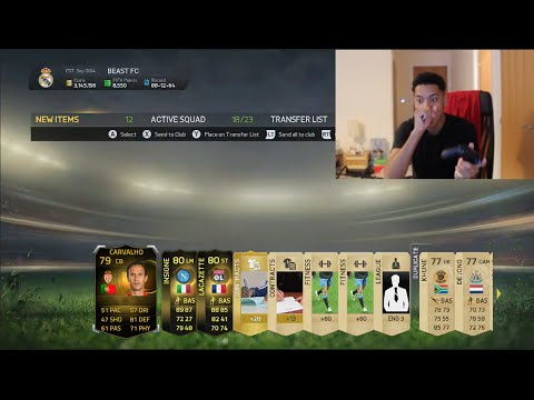 1 MILLION COIN PACK OPENING  - FIFA 15