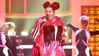 Brays Efe imita a Netta, la ganadora de Eurovisión 2018, en 'Toy' - Tu Cara Me Suena