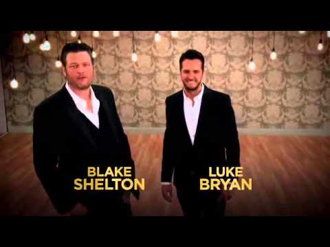 Blake Shelton and Luke Bryan ACM Awards Second Commercial
