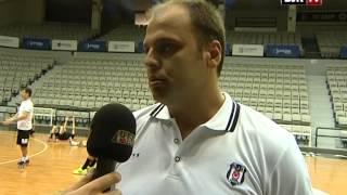 Erkek Voleybol Takımımız Antrenman ve Röportaj BJK TV