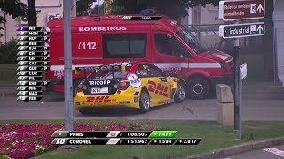 Tom Coronel crasht tegen brandweerwagen in Portugal - RTL GP