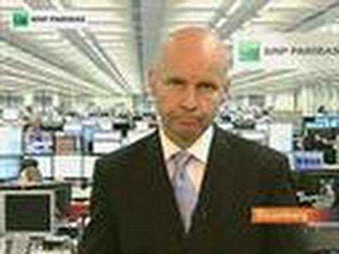 BNP's Wattret Says Spanish Banks in `Severe Distress'