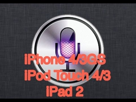 How to get Siri on iPhone 4 iOS 6 / 7 Jailbreak! (and iPad 2) iOS 6.1-6.1.5 & iOS 7-7.0.4