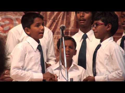 Santa Maria School 20th Annual Day Choir Presentation 1 - 03/09/2013