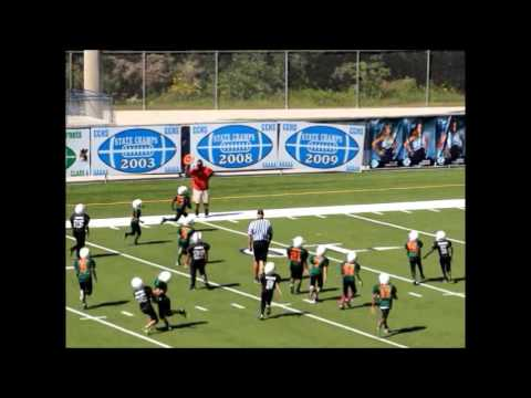 The Camden County Canes 2015 vs Raiders