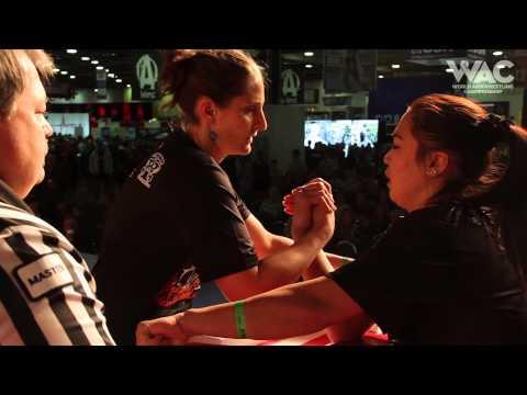 Elvira Mendalieva vs Sophie Oppenheimer, Arnold Classic 2015 finals