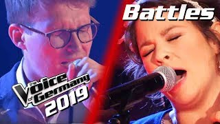 Herbert Grönemeyer - Flugzeuge im Bauch (Lukas vs. Fidi) | The Voice of Germany 2019 | Battles