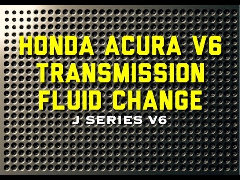 99 - 04 Honda Acura Accord V6 Transmission fluid change - P0740 - Bundys Garage