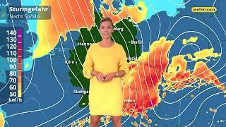 Wetter Die aktuelle Vorhersage 23.09.2018