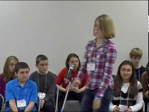 Fauquier County Public School - Division Spelling Bee January 12, 2013 Auburn Middle School 55 Competitors ----------------------------------------- It was d...